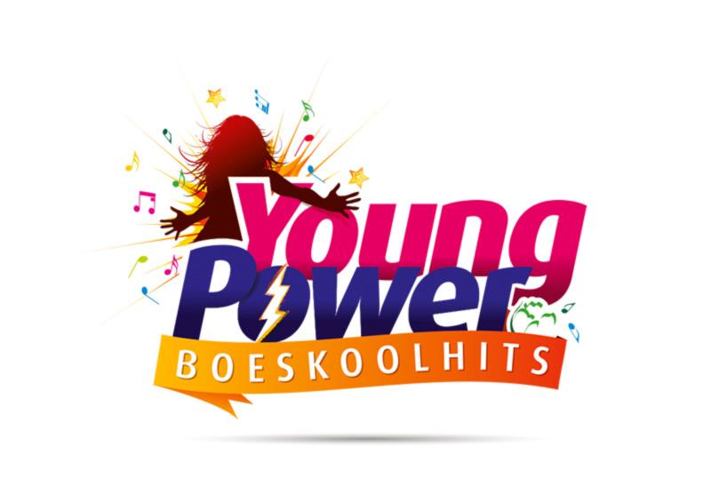 Logo Boeskool is Los Oldenzaal - Young Power Boeskoolhits - Boeskool design, deel 1